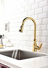 5151buyworld Top Qualität Wasserhahn Gold Single