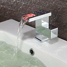 5151buyworld Top Qualität Wasserhahn Kupfer LED