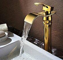 5151buyworld-Wasserfall Waschbecken Wasserhahn,