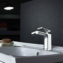 5151buyworld-Wasserhahn für Badezimmer, modernes