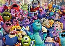 523P8 Consalnet Disney Pixar Monster et Cie der Universität Wanddeko Kinderzimmer Tapete (368 x 254 cm)