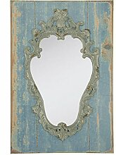52S013 Spiegel Grau/Blau ca. 42 x 64 cm