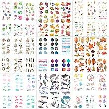 54 Blatt Scrapbooking Aufkleber in Verschiedene