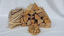 55 kg mumba® Brennholz Kaminholz reine Buche