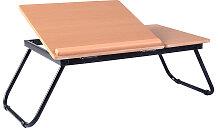 55 x 32 x 23 cm Faltbares Laptoptisch Betttisch