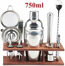 550 / 750ml Edelstahl Cocktail Shaker Mixer