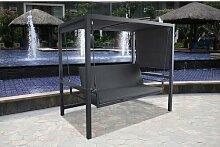550 cm x 300 cm Pavillon Muflier aus Aluminium