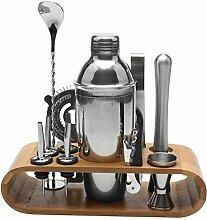 550 ml/780 ml Edelstahl Cocktail Shaker Bar Set