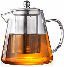 550 ml Glas Wasserkocher Sieb Teekanne