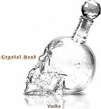 550 Ml Kristall Schädel Weinflasche/Royal Glas