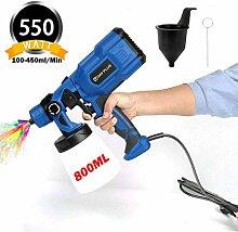 550W Farbsprühsystem, Farbspritzpistole
