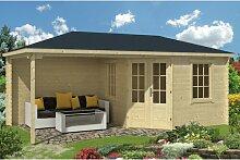 575 cm x 300 cm Gartenhaus Damarion Garten Living