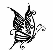 58X71 Cm Elegante Schmetterling Wandaufkleber