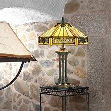 59 cm Tischleuchte Tiffany Artistar