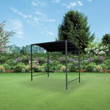 590 cm x 370 cm Grillpavillon Wantaugh aus Metall