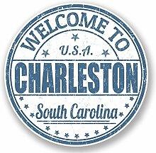 #5901 Vinyl-Aufkleber, Charleston South Carolina,