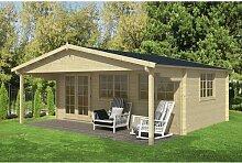 595 cm x 595 cm Gartenhaus Jamel Garten Living