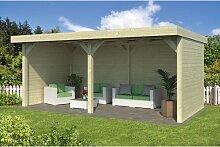 598 cm x 300 cm Gartenhaus Sheredan Garten Living