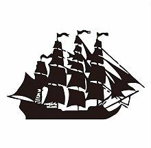 59X91cm Piratenschiff Wandaufkleber Kinderzimmer