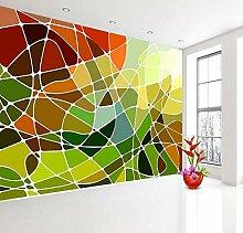 5d Abstrakte Backstein Tapete 3d Wandbild für