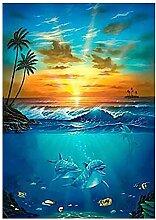 5D Diamant-Malerei Kits Sonnenuntergang
