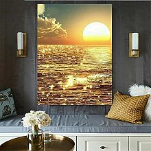 5D Diamant Painting Bilder Sonnenuntergang Meer