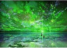 5d Diamant Painting sunnymi Night Sky DIY Stickerei Malerei Kreuzstich Kunstharz Dekoration (E)