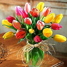 5D-Diamantgemälde, Tulpen-Blumenstrauß-Set,