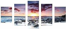 5D Diamantmalerei, wuayi Sonnenuntergang