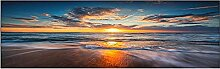 5D Diamond Painting Set Vollbohrer Sonnenuntergang