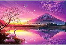 5D Diamond Painting Sonnenuntergang Landschaft,