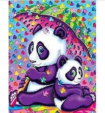 5D Diy Diamant Stickerei Niedlichen Panda Baby 3D