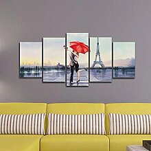5D Lover in Paris Eiffelturm Daimond Stickerei von