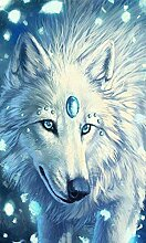 5D Stickerei DIY Diamant Gemälde Tiere Serie