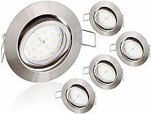 5er Pack - DIMMBAR Ultraflacher LED 5W