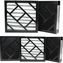 5er Pack Ersatz Bionaire W6S Luftbefeuchter Filter–Kompatibel Bionaire 911D Luftfilter