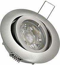5er Set 230V Power LED 7W=50Watt DIMMBAR inkl.