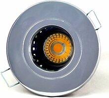 5er Set Einbaustrahler Delfi 230V IP54 Farbe Chrom