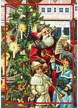 5er Set GMM Advent Klappkarte zu Weihnachten mit