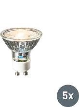 5er Set GU10 LED-Leuchte 240V 3W 230lm warmweiß