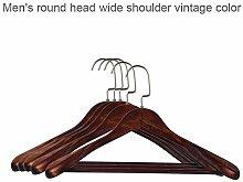 5er Set Kleiderbügel Aus Holz Anzugbügel,