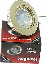 5er Set LED SMD Einbaustrahler Lino 230Volt.
