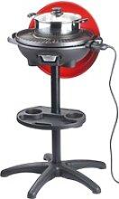 5in1-Elektro-Kugelgrill mit Temperaturregler und