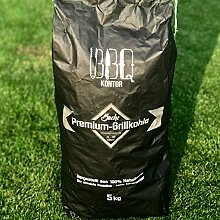 5kg (1x5kg) BBQKontor Premium Buchenholzkohle -