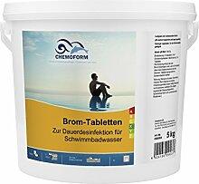 5Kg Chemoform Brom Tabletten 20Gr.