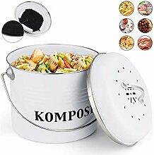 5L-Kompostbehälter - Küchen Bio Mülleimerl,