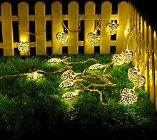 5m 20 LED Herz Lichterkette String Lights für