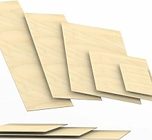 5mm Sperrholz-Platten Zuschnitt Länge bis 150cm