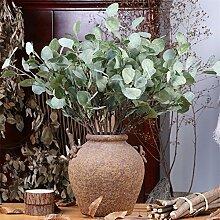 5pcs 70cm künstlichen grün eukalyptus eukalyptus