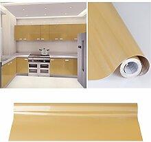 5pcs Elegant Selbstklebend Möbelfolie PVC 0.61x5M Braun Küchenfolie Wasserfest Dekofolie Schrankfolie klebefolie Möbelfolie Folie Tapeten für Küche Schrank Möbel